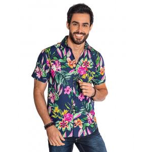 65b959b06 Camisa Atacado Florida Manga Curta Masculina Revanche Havai II ...