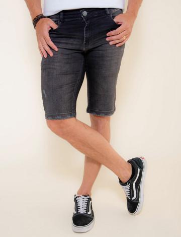 Bermuda Jeans Atacado Masculino Revanche Suva Frente