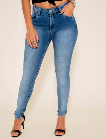 Calça Jeans Atacado Cigarrete Feminino Revanche Zuri Frente