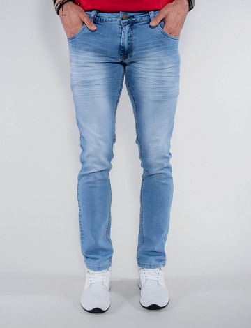 Calça Jeans Atacado Bordado Masculina Revanche Iraque Frente