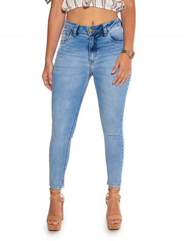 Calça Jeans Atacado Cropped Clara Feminina Revanche Moroni Frente