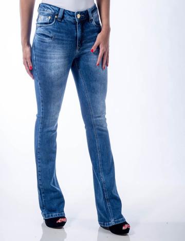 15456c5273 Calça Jeans Atacado Flare Feminina Revanche Dublim