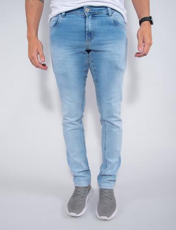 Calça Jeans Atacado Masculina Revanche Nichol Azul Frente