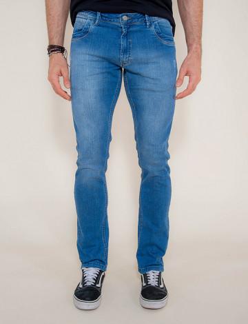 Calça Jeans Atacado Reta Masculina Revanche Begauã Azul Frente