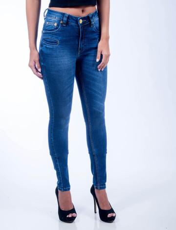 Calça Jeans Atacado Skinny Feminina Revanche Pristina Frente
