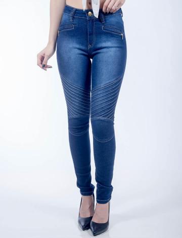 Calça Jeans Atacado Skinny Feminino Revanche Barém Frente