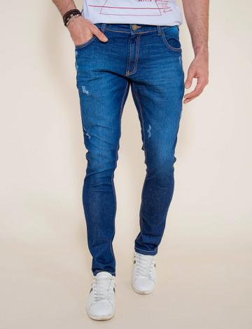 Calça Jeans Atacado Skinny Masculina revanche Teerã Frente