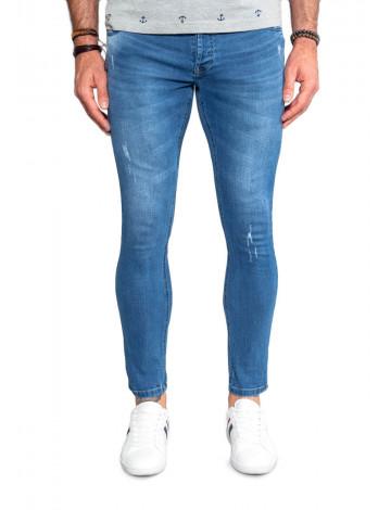Calça Jeans Atacado Super Skinny Cropped Masculina Revanche Milwaukee Frente