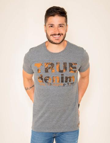 Camiseta Atacado Estampada Masculina Revanche Giugliano Mescla Frente