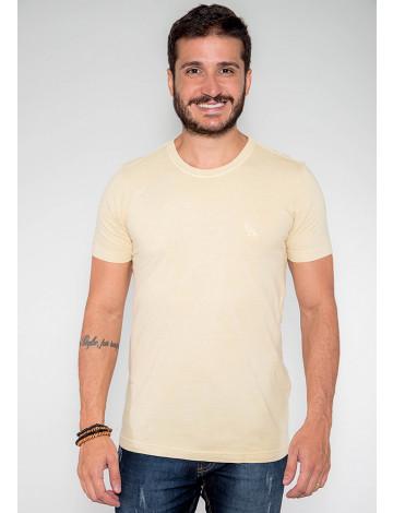 Camiseta Atacado Estonada Masculina Revanche Belmopã Amarelo Frente