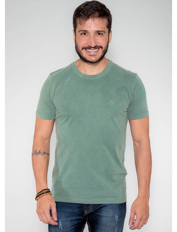 Camiseta Atacado Estonada Masculina Revanche Belmopã Verde Frente