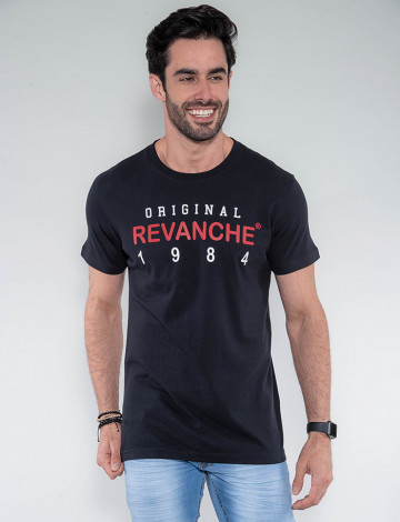 Camiseta Atacado Masculina Revanche Eslováquia Preto Frente