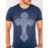Camiseta Atacado Estampa Silk Masculina Revanche Cross Frente