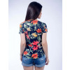 Camiseta Atacado Floral Feminino Revanche Talking To The Moon Costas