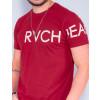 Camiseta Atacado Masculino Revanche Wesley Vinho Detalhe Frente
