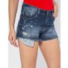 Shorts Jeans Atacado Barra Desfiada Revanche Versalhes Detalhe
