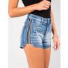 Shorts Jeans Atacado Curto Galão Lateral Feminino Revanche Milão Lateral Zoom