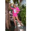 Shorts Jeans Atacado Feminino Revanche Cristal Rosa Look