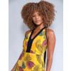 Vestido Atacado Feminino Revanche Sarah Amarelo Detalhe Frente
