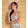 Vestido Longo Atacado Floral Revanche San Antonio II Off-White Costas