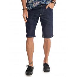 Bermuda Jeans Atacado Escura Masculina Revanche Nápoles Frente