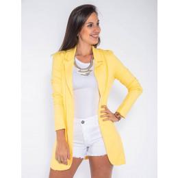 Blazer Atacado Max Feminino Revanche Berna Amarelo Frente