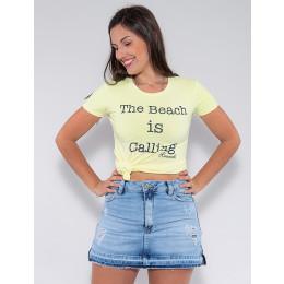 Blusa The Beach Atacado Feminina Revanche Leonda Rosa Frente