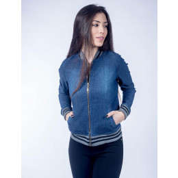 Compre Bomber Jeans Atacado Feminina Revanche Riade e aumente as vendas da sua loja. Acesse a loja online de atacado da Revanche Jeans Frente