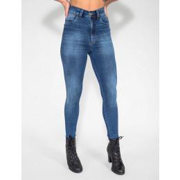 Calça Jeans Atacado Cigarrete Hot Pants Feminina Revanche Varden Frente