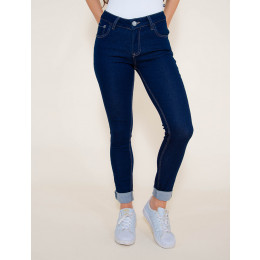 Calça Jeans Atacado Cigarrete Cint. Alta Feminina Revanche Camberra Frente