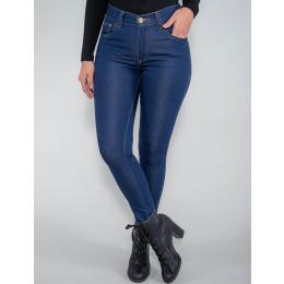 Calça Jeans Atacado Cigarrete Feminina Revanche Bernice Azul Frente
