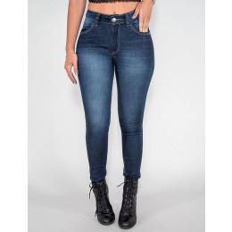 Calça Jeans Atacado Cigarrete Feminino Revanche Quinxassa Frente