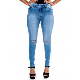 Calça Jeans Atacado Cigarrete Feminino Revanche Salene Frente