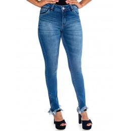 Calça Jeans Atacado Cigarrete Feminino Revanche Roxane