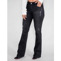 Calça Jeans Atacado Flare Feminina Revanche Colômbia Frente