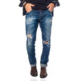Calça Jeans Atacado Frente Tradicional Masculina Revanche Chicago Frente