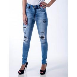 Calça Jeans Atacado Skinny Feminina Revanche Apia Frente