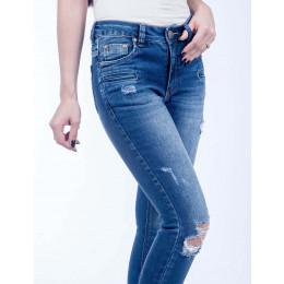 Calça Jeans Atacado Skinny Feminina Revanche Uruguai Frente