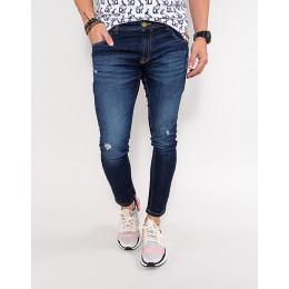 Calça Jeans Atacado Skinny Masculina Revanche Darcel Azul Frente