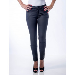Calça Jeans Atacado Skinny Resinada Feminina Revanche Otava - Frente