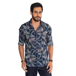 Camisa Atacado Floral Masculina Revanche Havai Frente