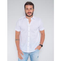 Camisa Atacado Masculina Revanche Allard Branco Frente
