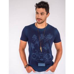 Camiseta Atacado Estampa Laser Masculina Revanche Coqueiros Frente