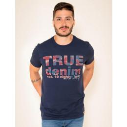 Camiseta Atacado Estampada Masculina Revanche Giugliano preto frente