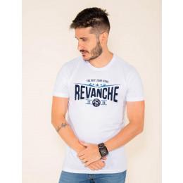 Camiseta Atacado Estampada Masculina Revanche Jacksonville Mescla Frente