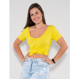Camiseta Atacado Feminina Revanche Fabienne Vermelho Frente