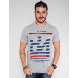 Camiseta Atacado Masculina Revanche Austrália Branco Frente