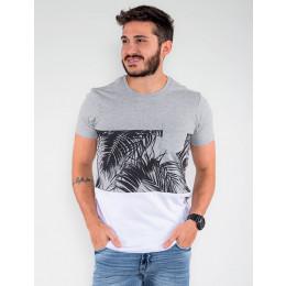 Camiseta Atacado Masculina Revanche Dual Color Preto Frente