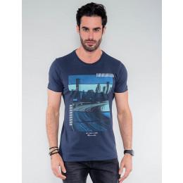 Camiseta Atacado Masculina Revanche Tailândia Mescla Frente