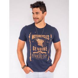 Camiseta Atacado Silk Masculina Revanche Motorcycles Frente